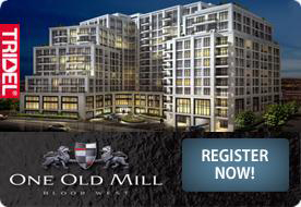 One Old Mill condo by Tridel